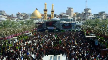 Musulmanes del mundo marchan hacia Karbala para conmemorar Arbaín