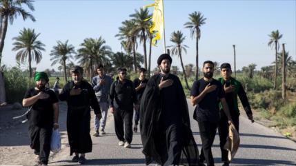 Unos 59 000 iraníes viajan a Irak para asistir al rito de Arbaín