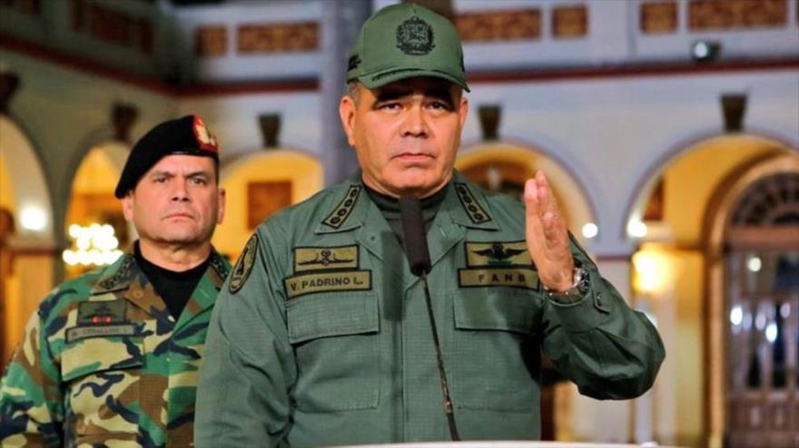 Vladimir Padrino López, ministro de la Defensa de Venezuela.