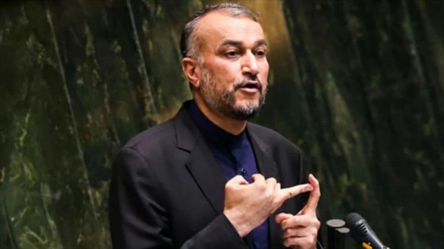 El canciller iraní, Hosein Amir Abdolahian.