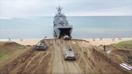 2000 militares rusos inician ejercicio militar táctico en Crimea