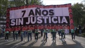 Siete años de la desaparición de los 43 de Ayotzinapa
