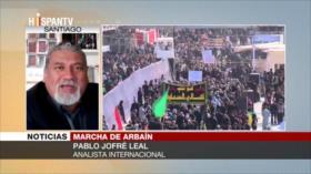 'Arbaín es un símbolo de la manera de encarar la injusticia'