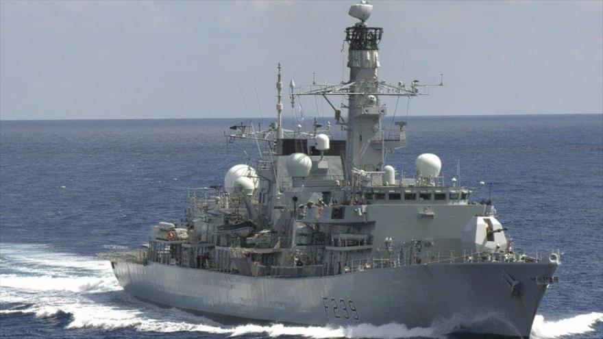 La fragata británica HMS Richmond