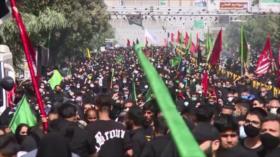 Los iraníes participan en caminata simbólica de Arbaín en Teherán