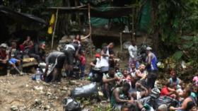 Migrantes haitianos rumbo a cumplir el sueño norteamericano