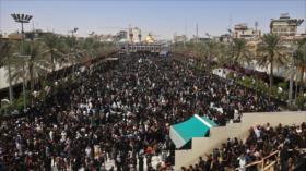 Arbaín, marcha épica de musulmanes por amor a su Imam Husein (P)