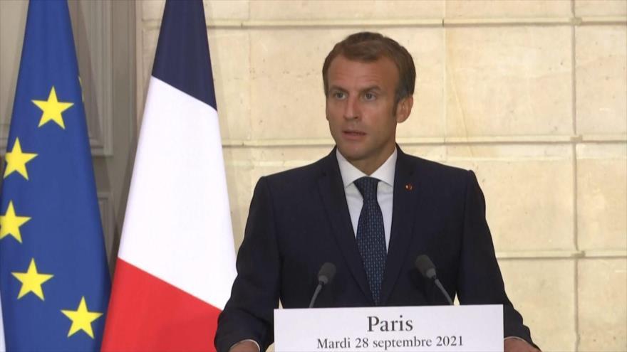 Francia llama a Europa a dejar de confiar en EEUU