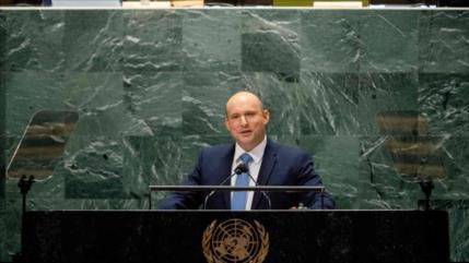 Israelíes critican 'discurso vacío' de Bennett en la ONU