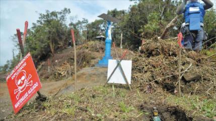 Por minas antipersonales se desplazan 1000 indígenas colombianos