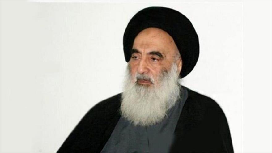 Ayatolá Sistani urge ir a votar para un cambio real y evitar el caos | HISPANTV