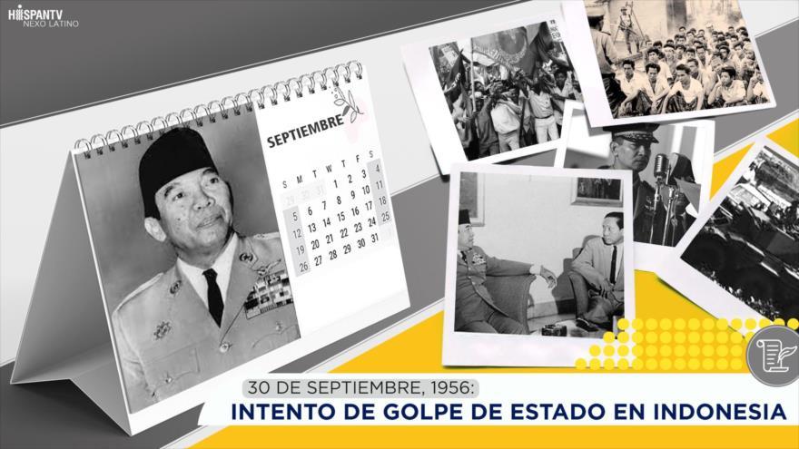 Esta semana en la historia: Intento de golpe de Estado en Indonesia