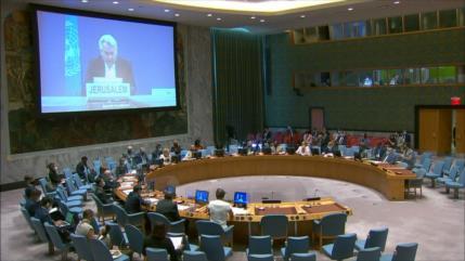 ONU expresa preocupación por demolición de viviendas palestinas
