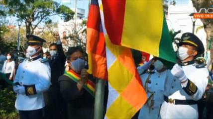 Quita de bandera indígena Wiphala genera polémica en Bolivia