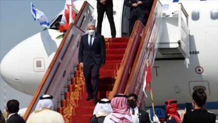 ¡Dios ayude al pueblo bareiní!: Canciller israelí llega a Baréin