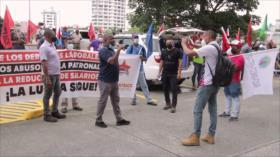 Trabajadores panameños piden un ajuste al salario mínimo nacional