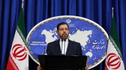 """""""Mancha de la vergüenza""""; Irán condena embajada israelí en Baréin"""