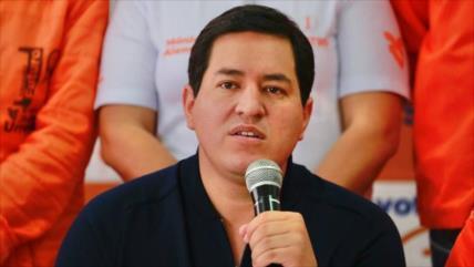 Arauz: Ecuador ha visto socavada su soberanía bajo Gobierno de Lasso