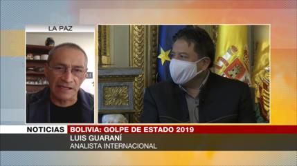 Guaraní: Oposición boliviana sabe que Áñez testificará en su contra