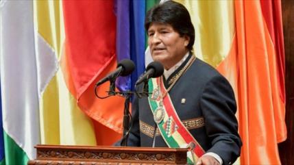 Morales denuncia 'mentiras' de la UE contra presidente boliviano