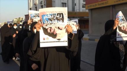 Bareiníes rechazan la visita del canciller israelí a su país