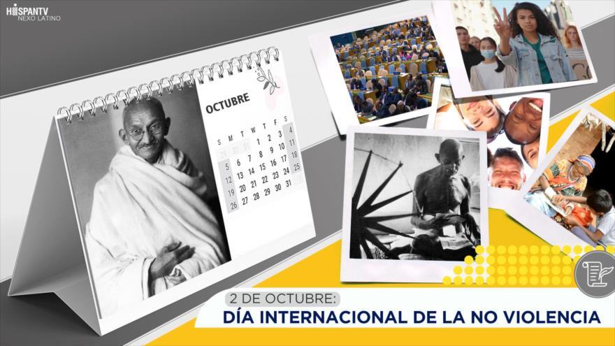 Esta semana en la historia: Día Internacional de la No Violencia