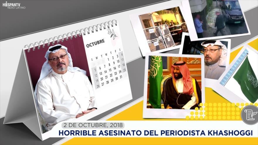 Esta semana en la historia: Horrible asesinato del periodista Khashoggi