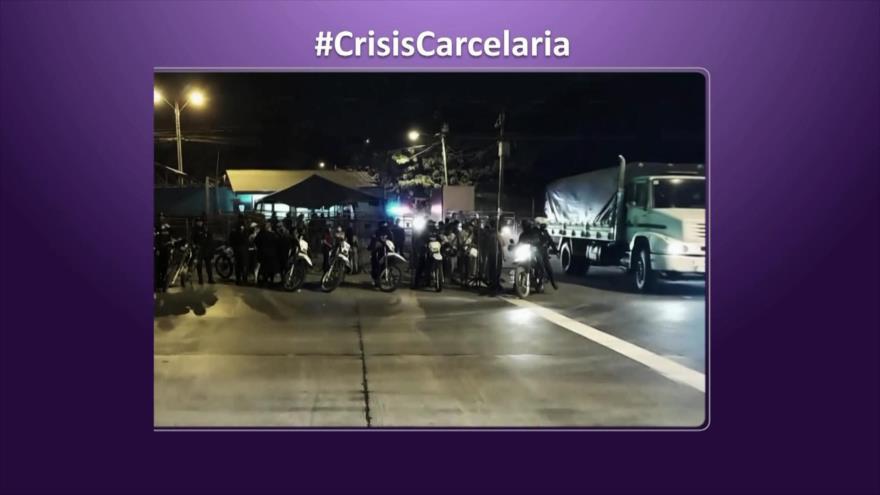 Etiquetaje: Crisis carcelaria en Ecuador