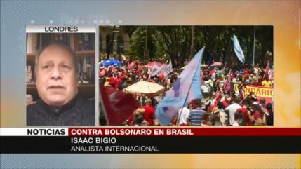 """""""Mala gestión de pandemia causará derrota electoral de Bolsonaro"""""""