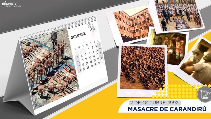 Esta semana en la historia: Masacre de Carandirú