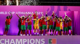 Portugal vence a Argentina y logra su primer mundial de futsal