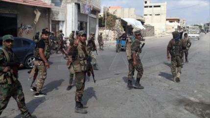 Primera vez en 10 años: Ejército sirio entra en la ciudad de Nawa