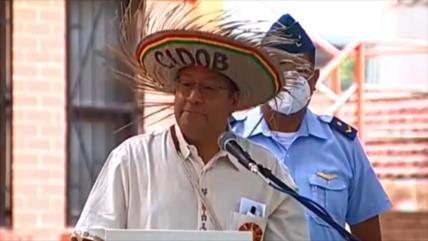 Arce declara que su prioridad es atender las demandas de indígenas