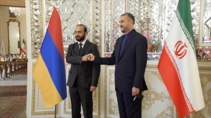 Irán impide a actores extranjeros dañar sus lazos con países vecinos