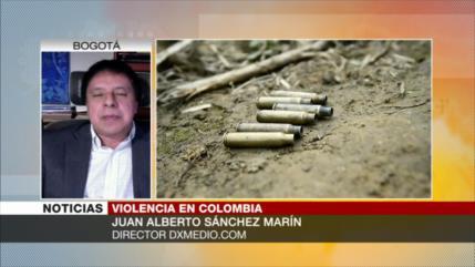 Sánchez Marín: Masacres son constantes en el Gobierno de Duque
