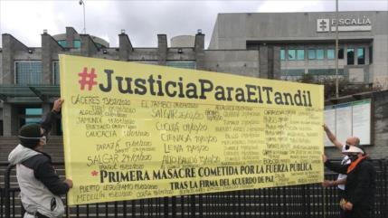 HRW fustiga impunidad de autores de masacre de El Tandil en Colombia