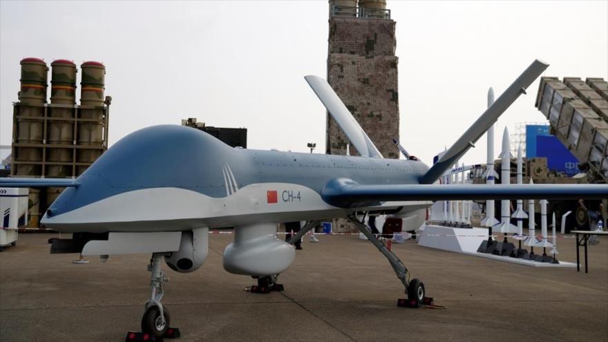 Un avión no tripulado (dron) CH4 de fabricación china. (Foto: Reuters)
