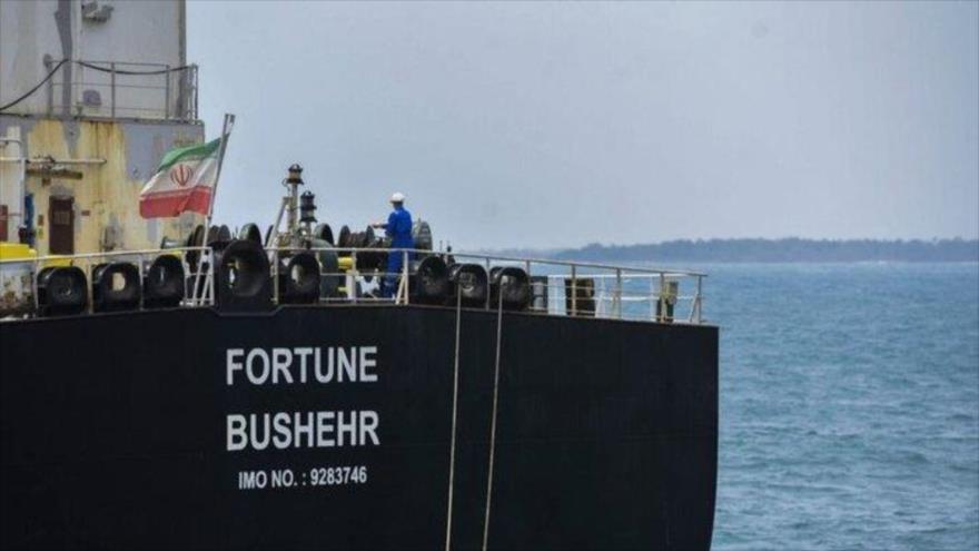 El petrolero iraní Fortune. (Fuente: IRNA)