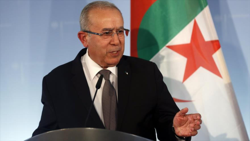 El ministro argelino de Asuntos Exteriores, Ramtane Lamamra. (Foto: EFE)