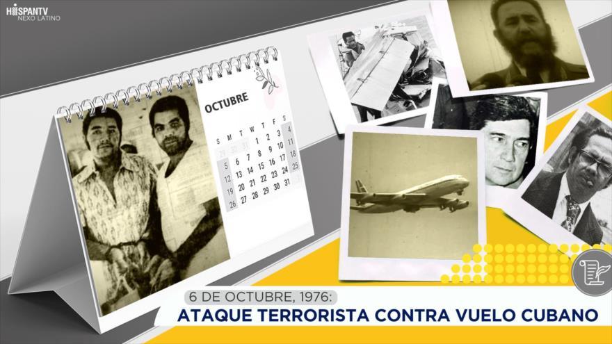 Esta semana en la historia: Ataque terrorista contra vuelo cubano