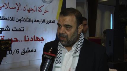 Yihad Islámica conmemora su aniversario de fundación en Damasco