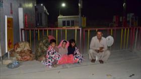 Vídeo: Terremoto de 5.7 deja 20 muertos en Paquistán
