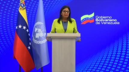 Venezuela denuncia ante ONU impacto de medidas coercitivas de EEUU