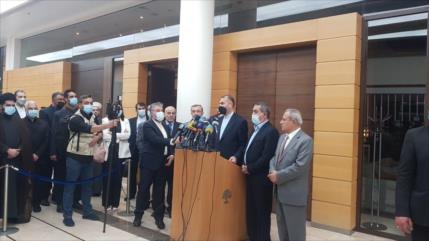 Irán reafirma su apoyo incondicional al pueblo de El Líbano