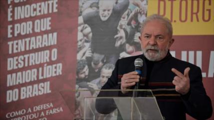 """Lula considera el Brasil de Bolsonaro como un """"paria internacional"""""""
