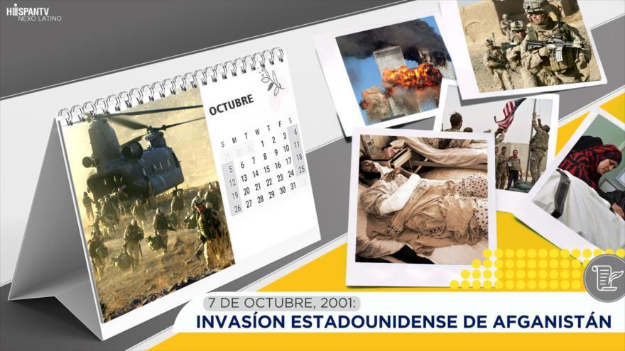 Esta semana en la historia: Invasión estadounidense de Afganistán