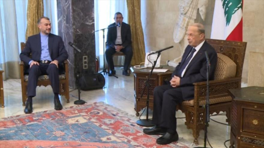 Canciller iraní visita Beirut para fortalecer lazos con El Líbano