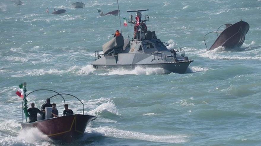 Vídeo: Lanchas de CGRI persiguen barcos de EEUU en Golfo Pérsico
