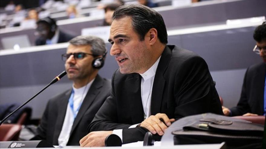 El representante de Irán ante la Organización de las Naciones Unidas (ONU), Heidar Ali Baluyi.