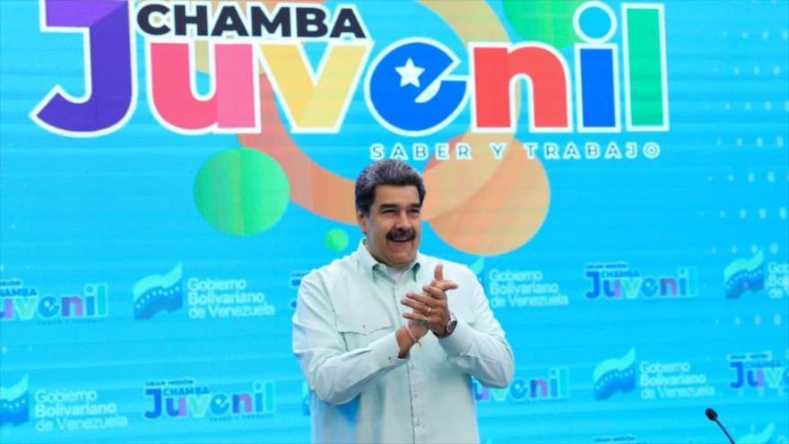 El presidente de Venezuela, Nicolás Maduro, participa en un evento, Caracas, 7 de octubre de 2021. (Foto: Prensa Presidencial)